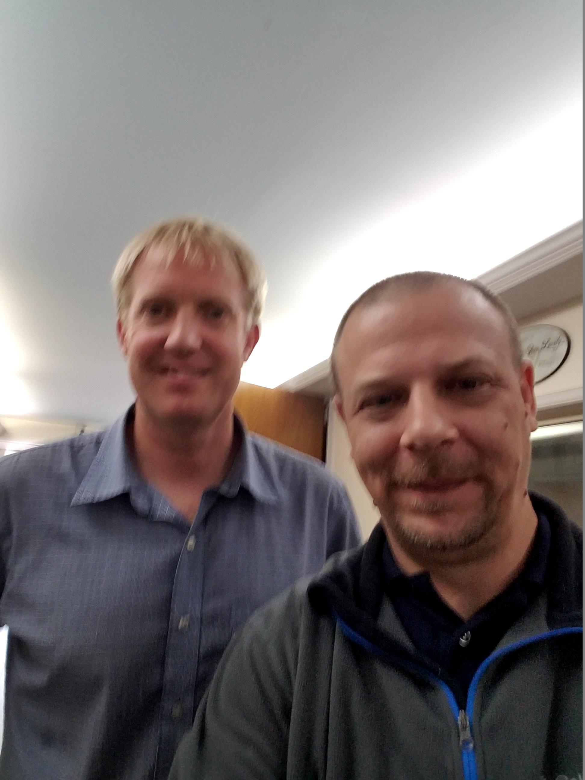 Chad and Doug Hamp