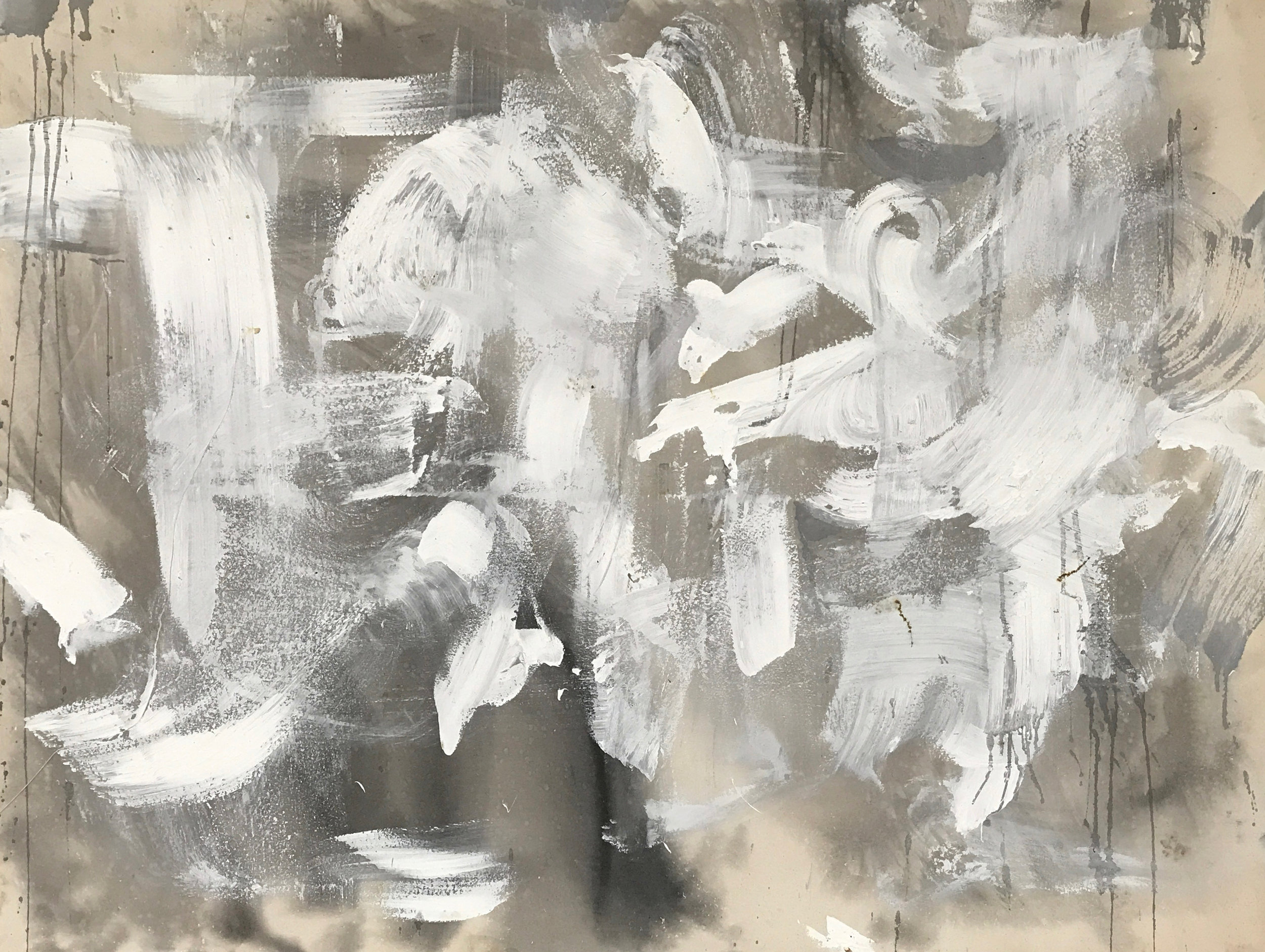 Untitled Abstract White Series 2.