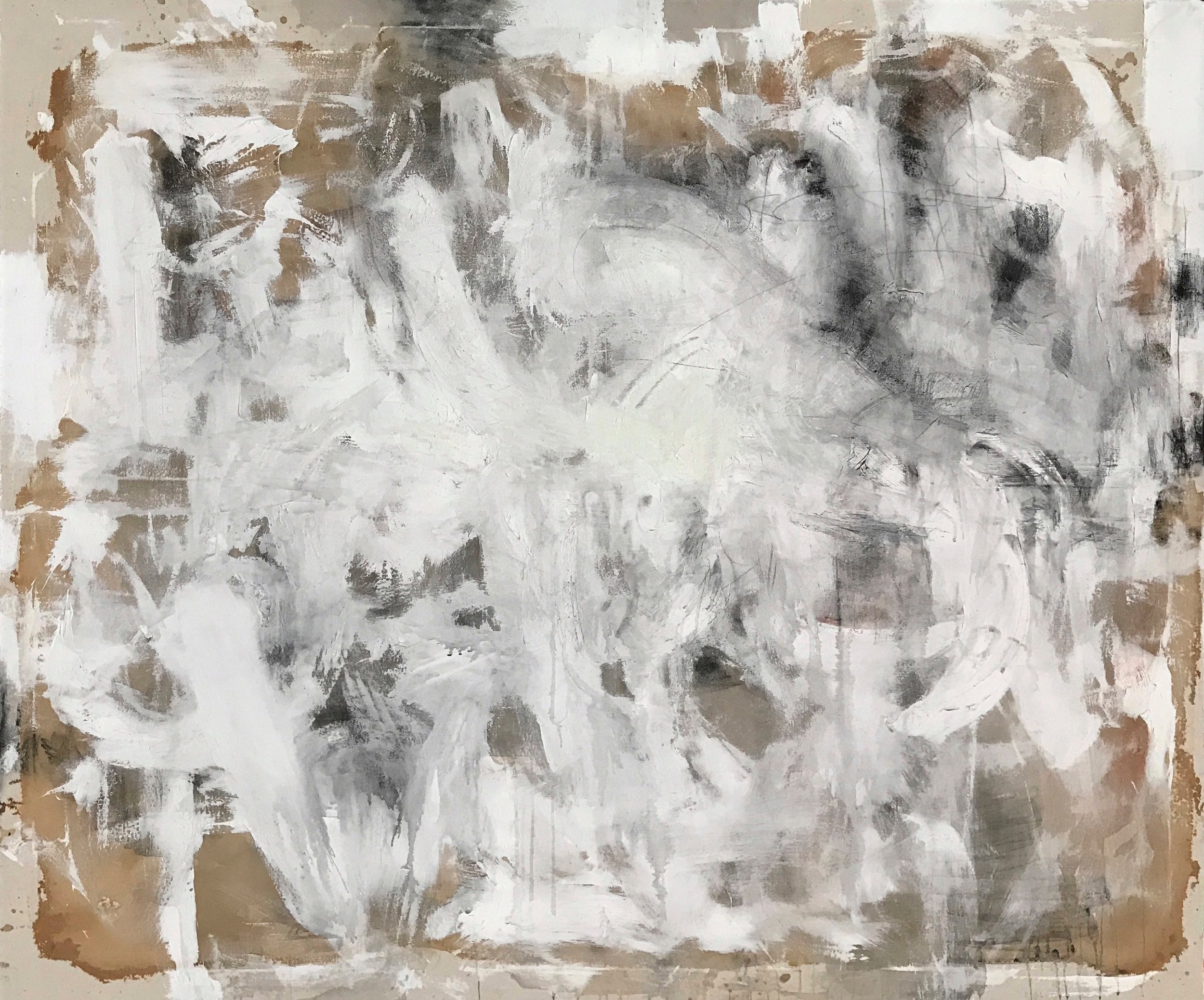 Untitled Abstract White Series 1.