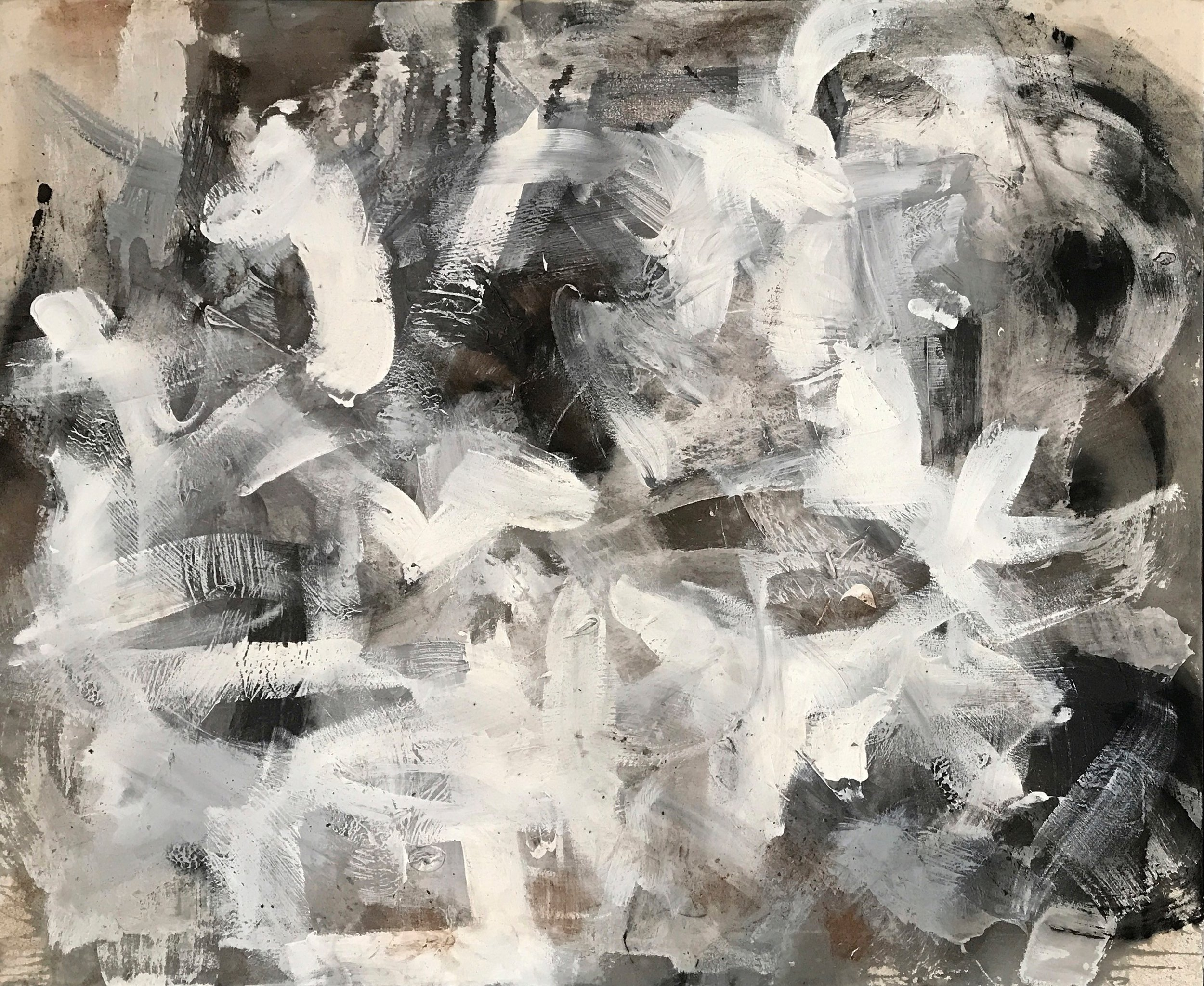 Untitled Abstract White Series 3.