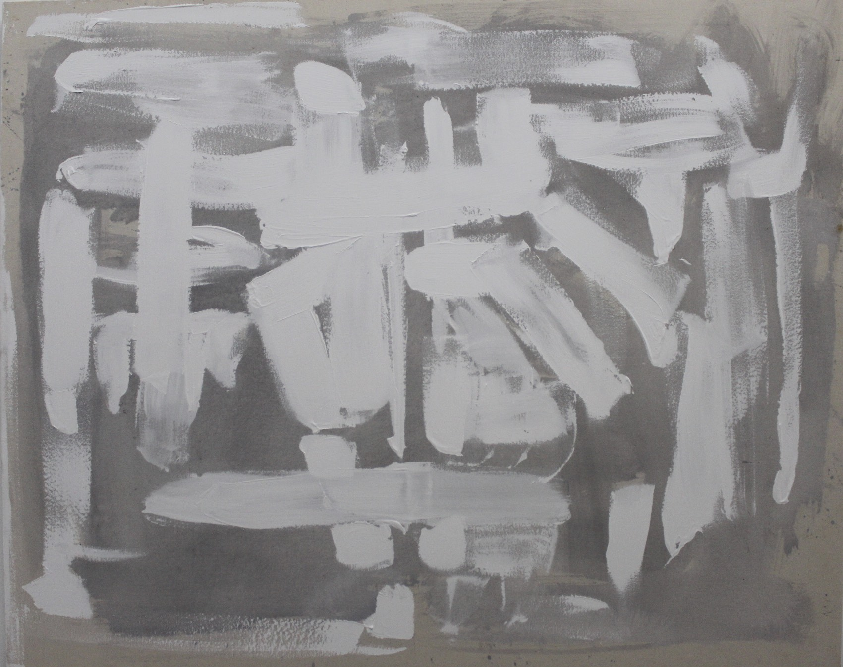 Untitled Abstract White Series 8.