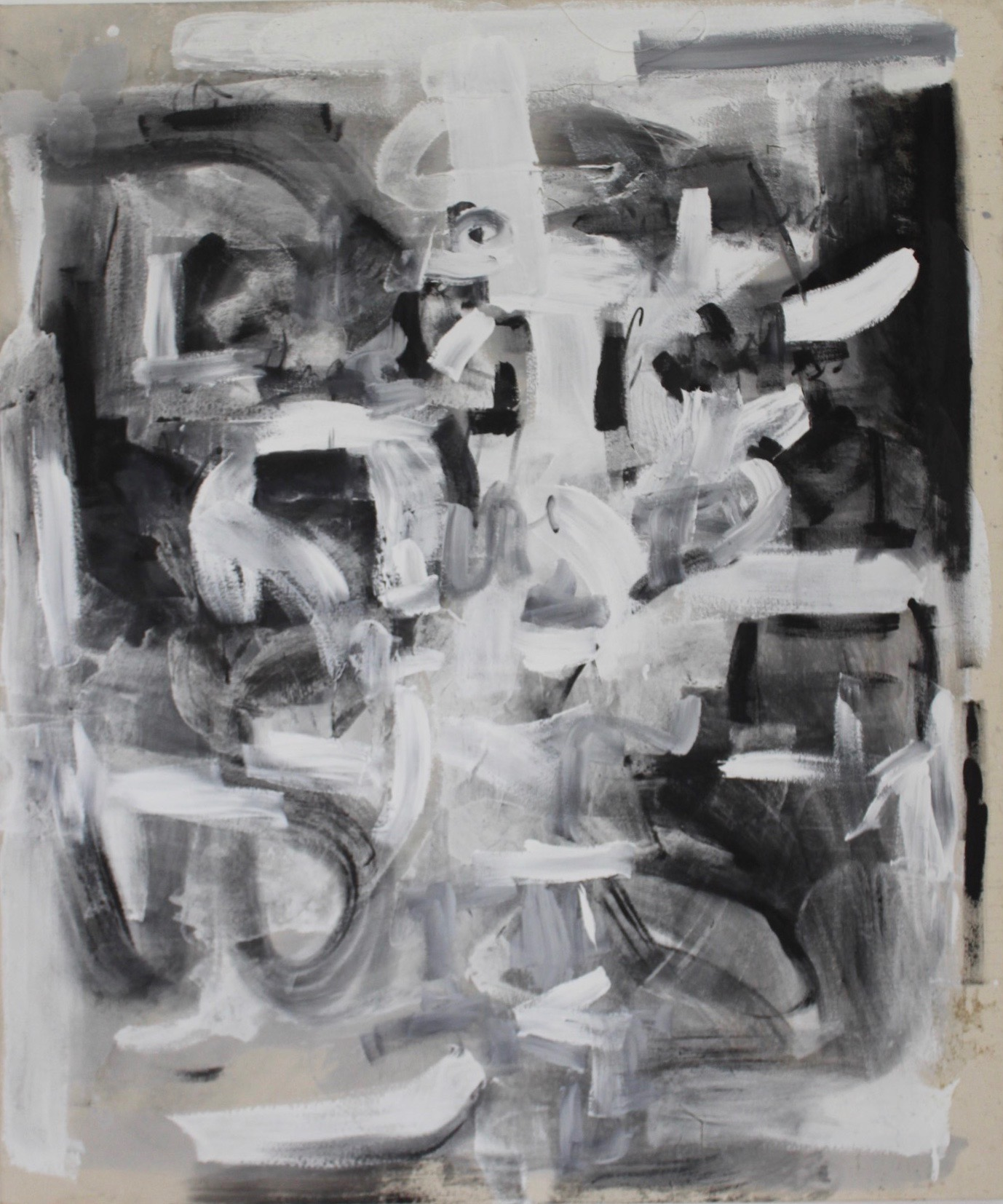 Untitled Abstract White Series 12.