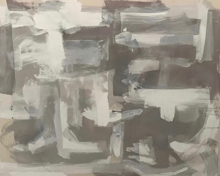 Untitled Abstract White Series 10.