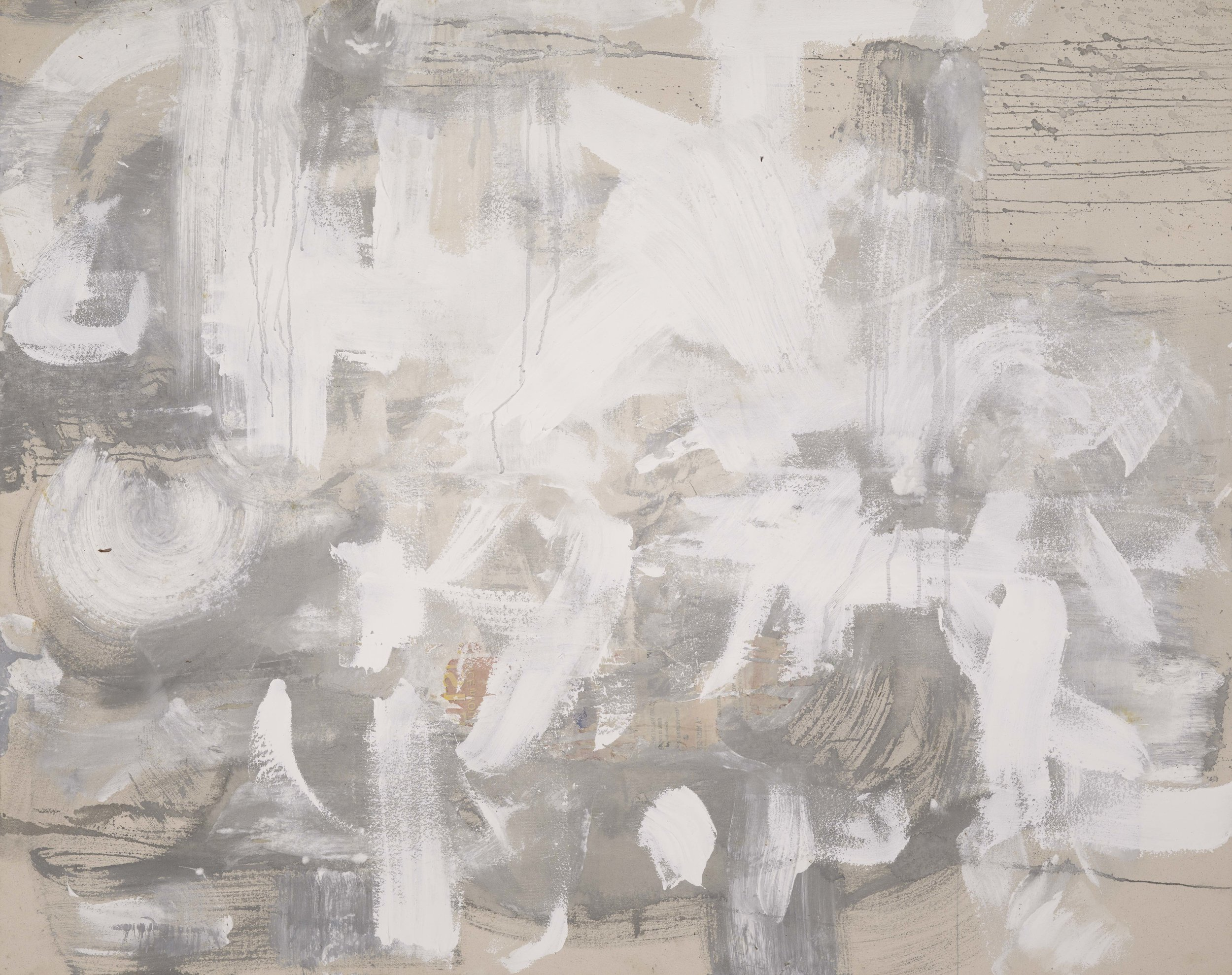 Untitled Abstract White Series .