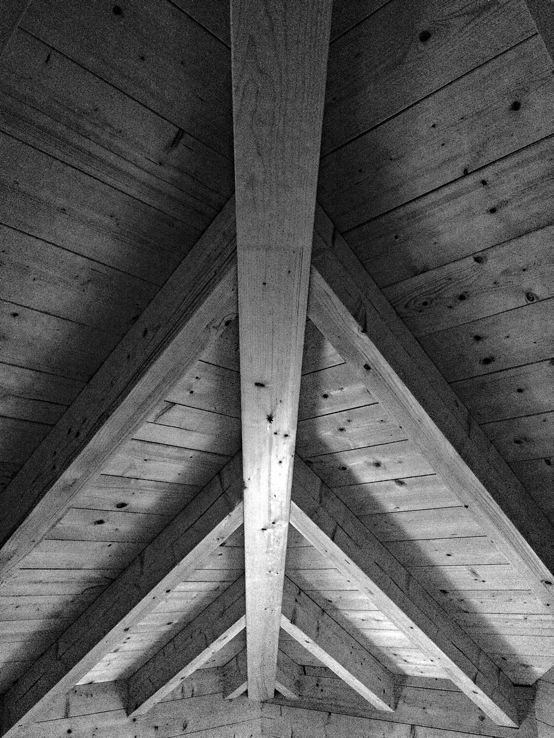 Vaulted Ceiling Detail