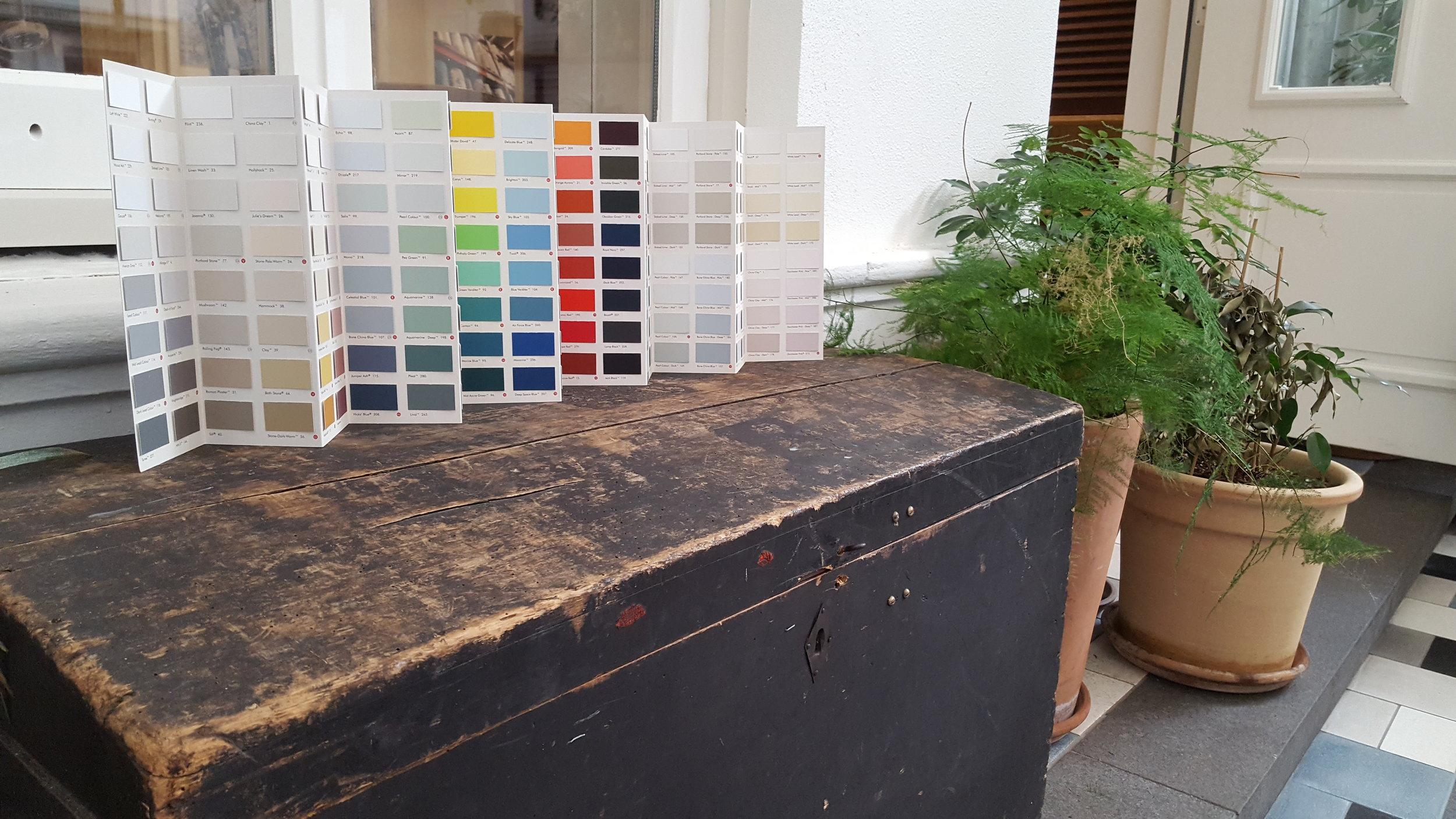 Image taken from Little Greene Paint Company Website