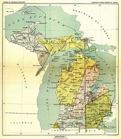 A map of the Underground Railroad as it passes through Wisconsin
