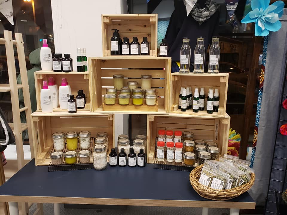 The Bronzeville Collective MKE with Alice's Garden featured products.