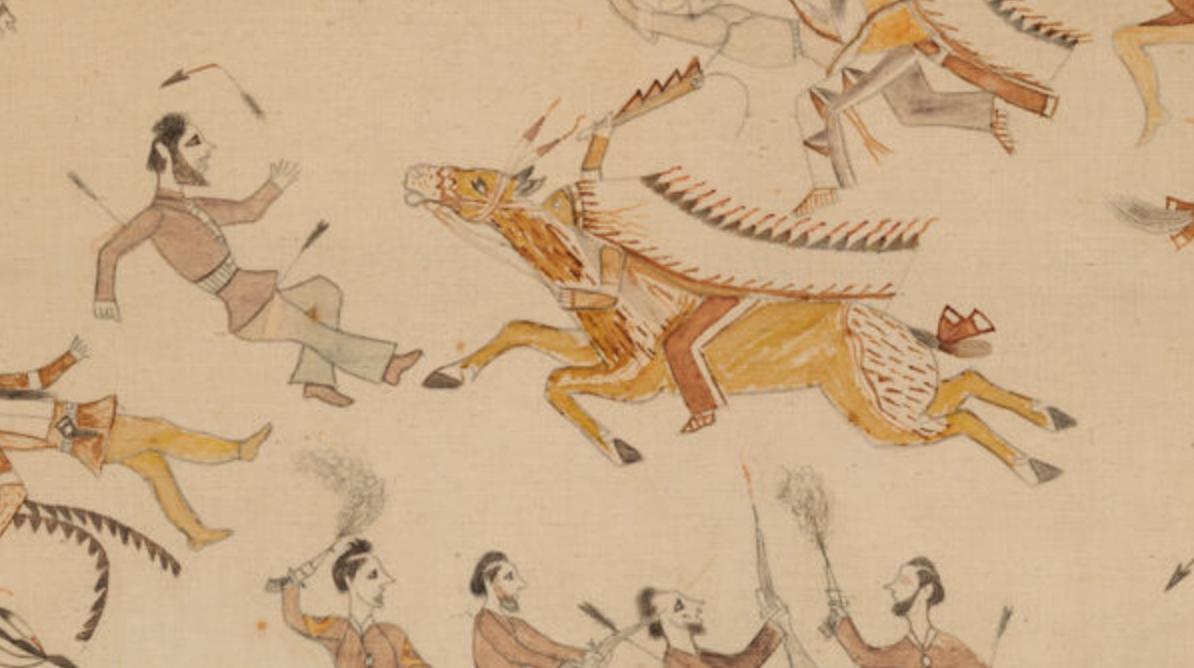 The Battle of the Little Bighorn  (1920), Culture: Minneconjou Lakota/ Teton Sioux
