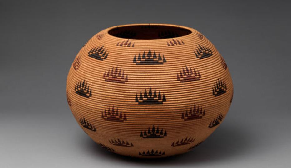 Basket Bowl  (1907), Culture: Washoe
