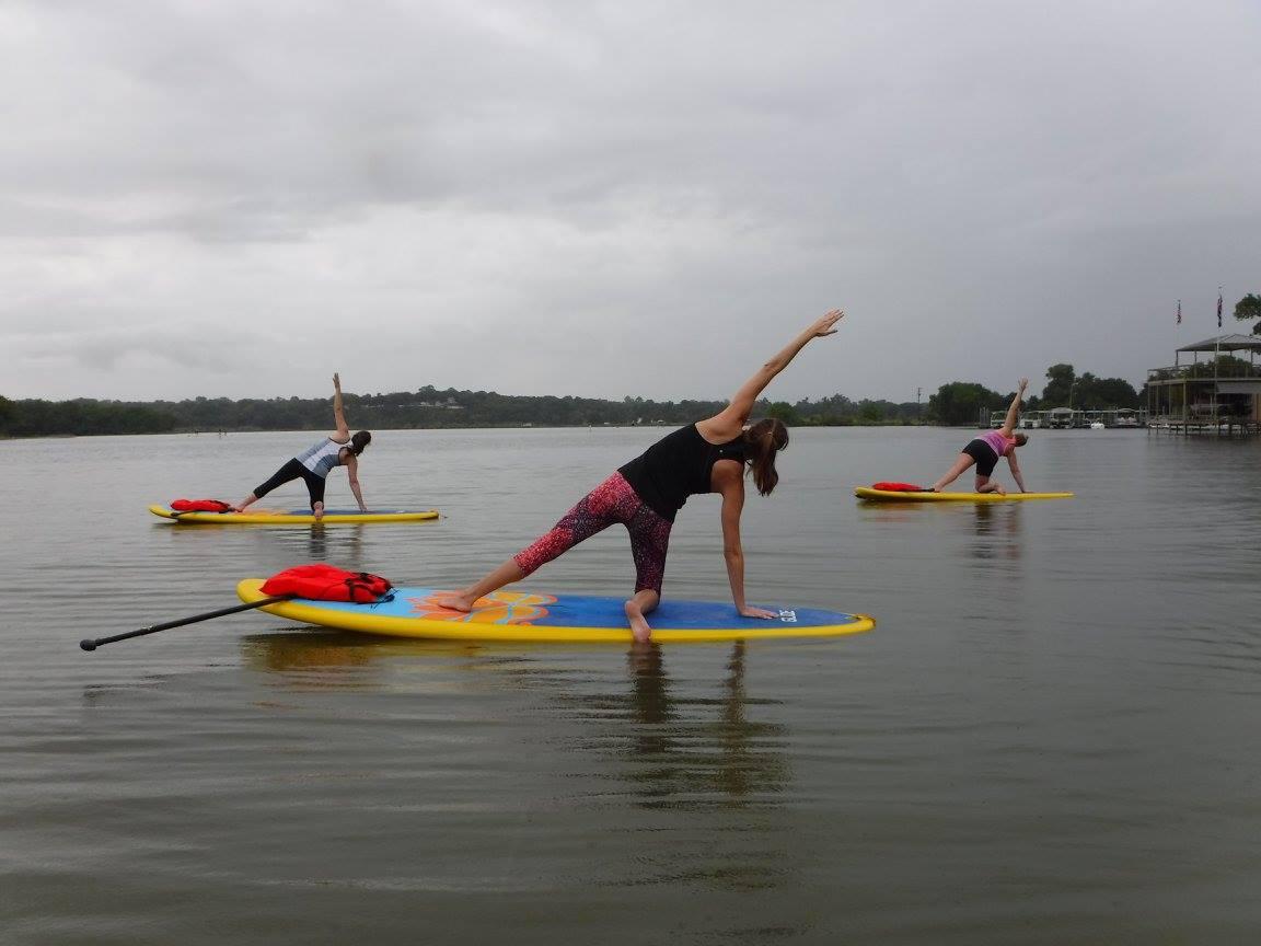 SUP yoga Fort Worth, TX