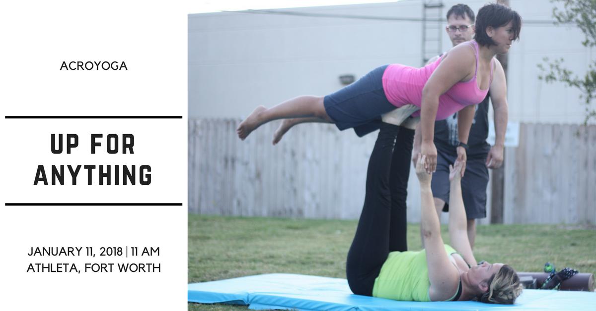 acro yoga athleta fort worth