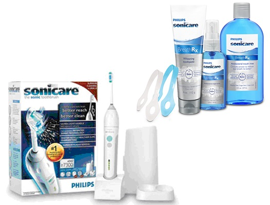 New patients receive an oral health starter kit at Hughes Dental Group!