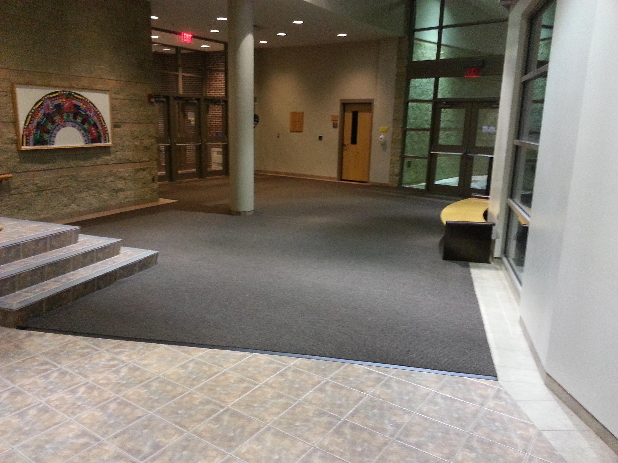 Custom Instalation Entryway Matting