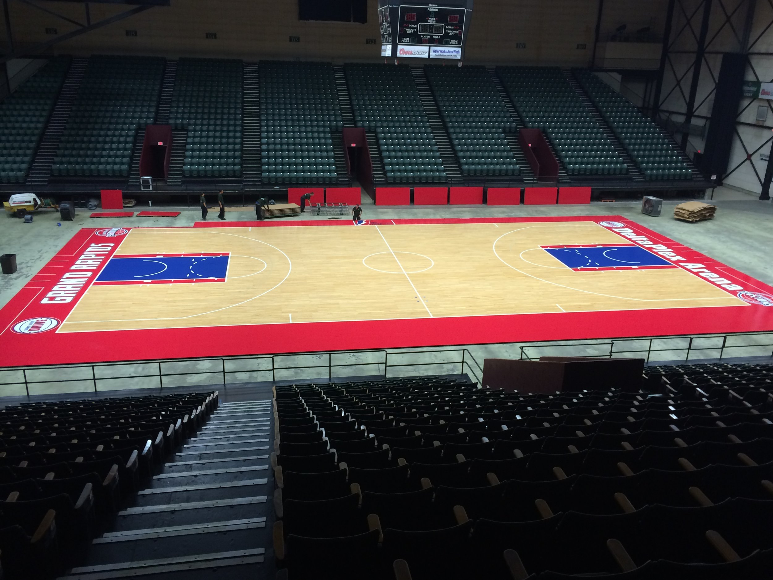 Grand Rapids Drive - Finished with game lines and boarder.