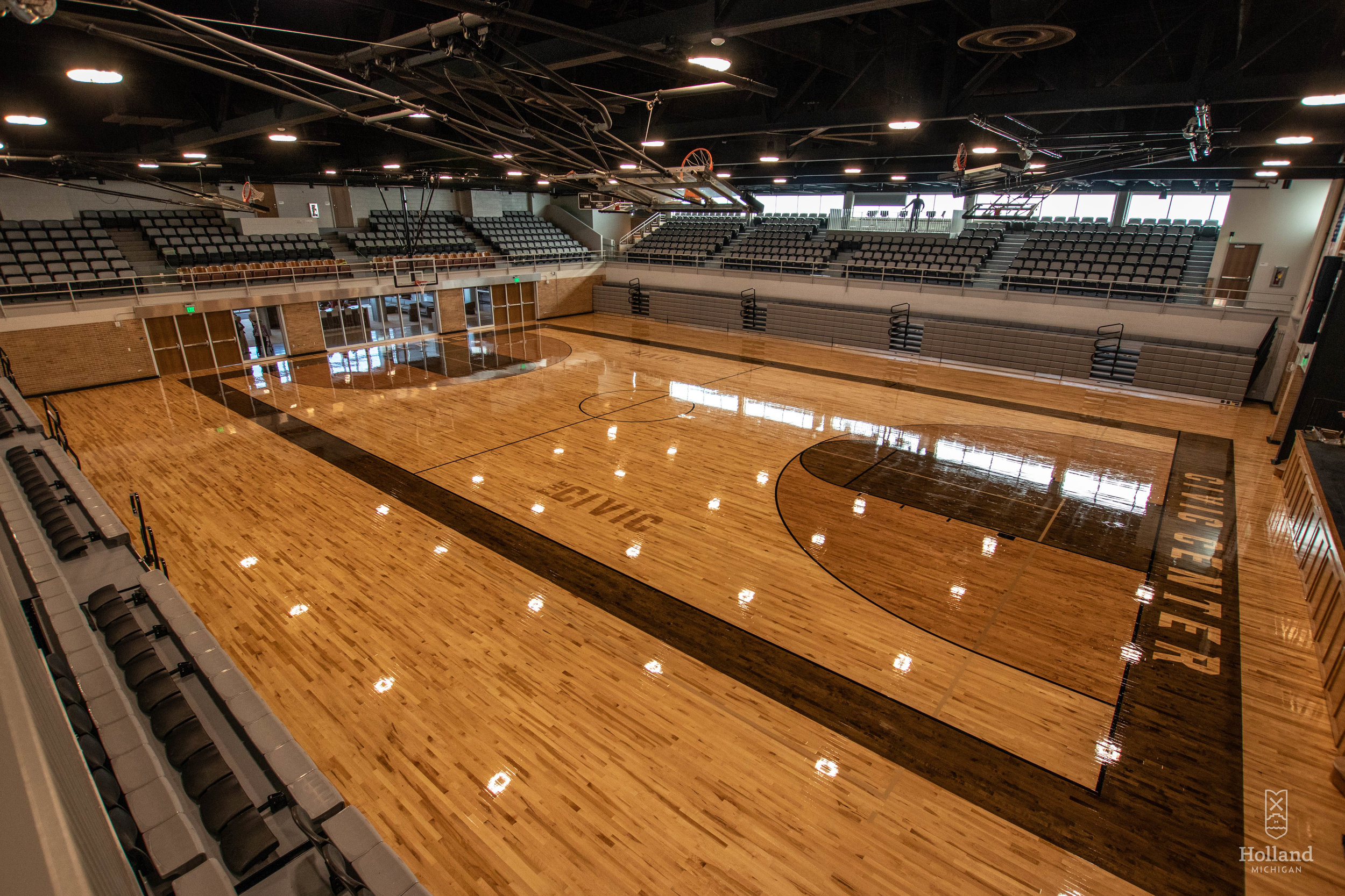 Commercial gym installation - The Holland Civic Center