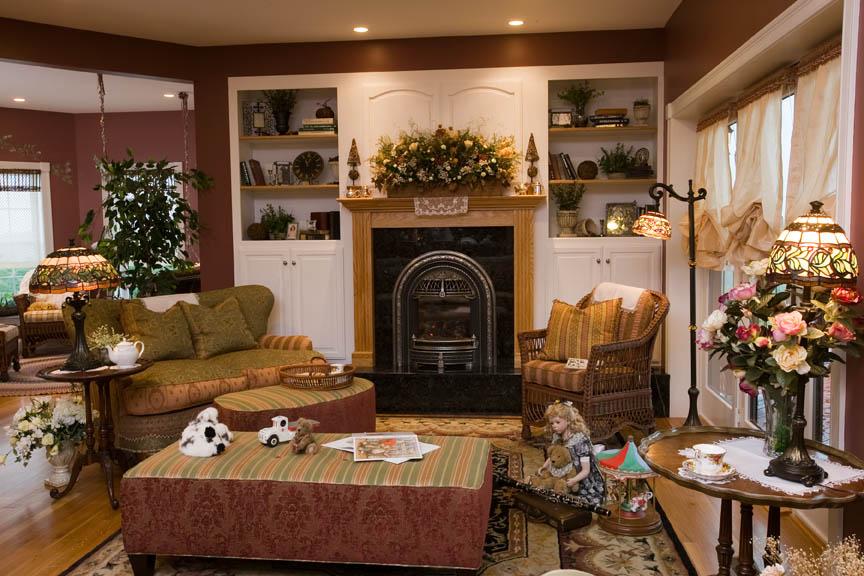 Victorian Living Room — Vintage House Design 716.708.1140