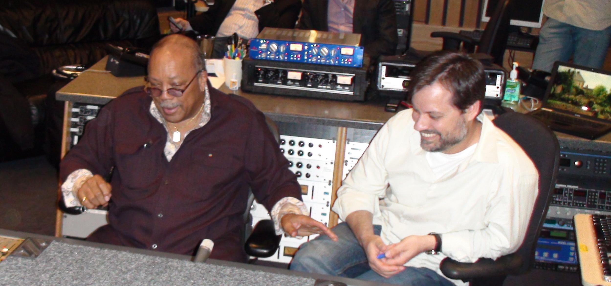 Quincy Jones & Steve 2009