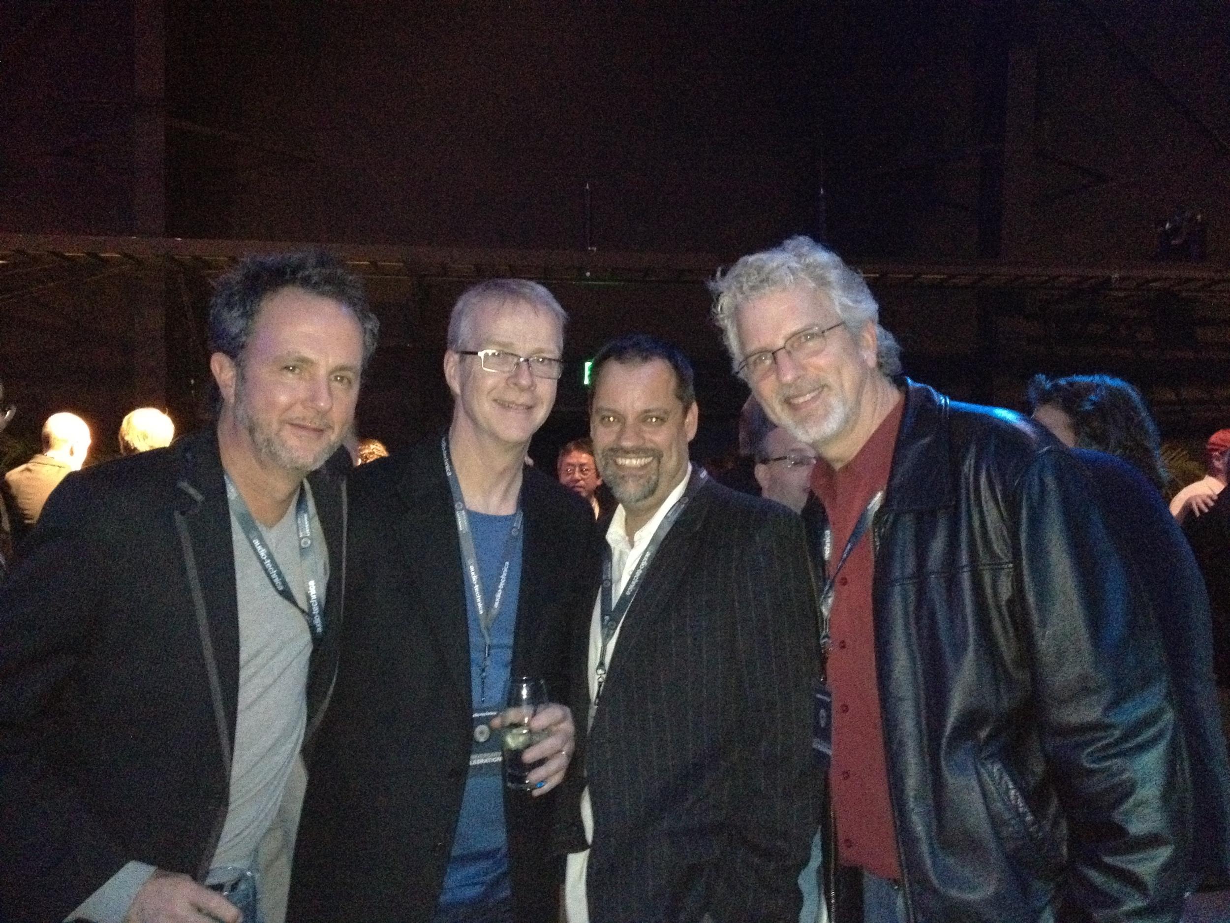 CJ Vanston, Peter Doell, SG, David Cole