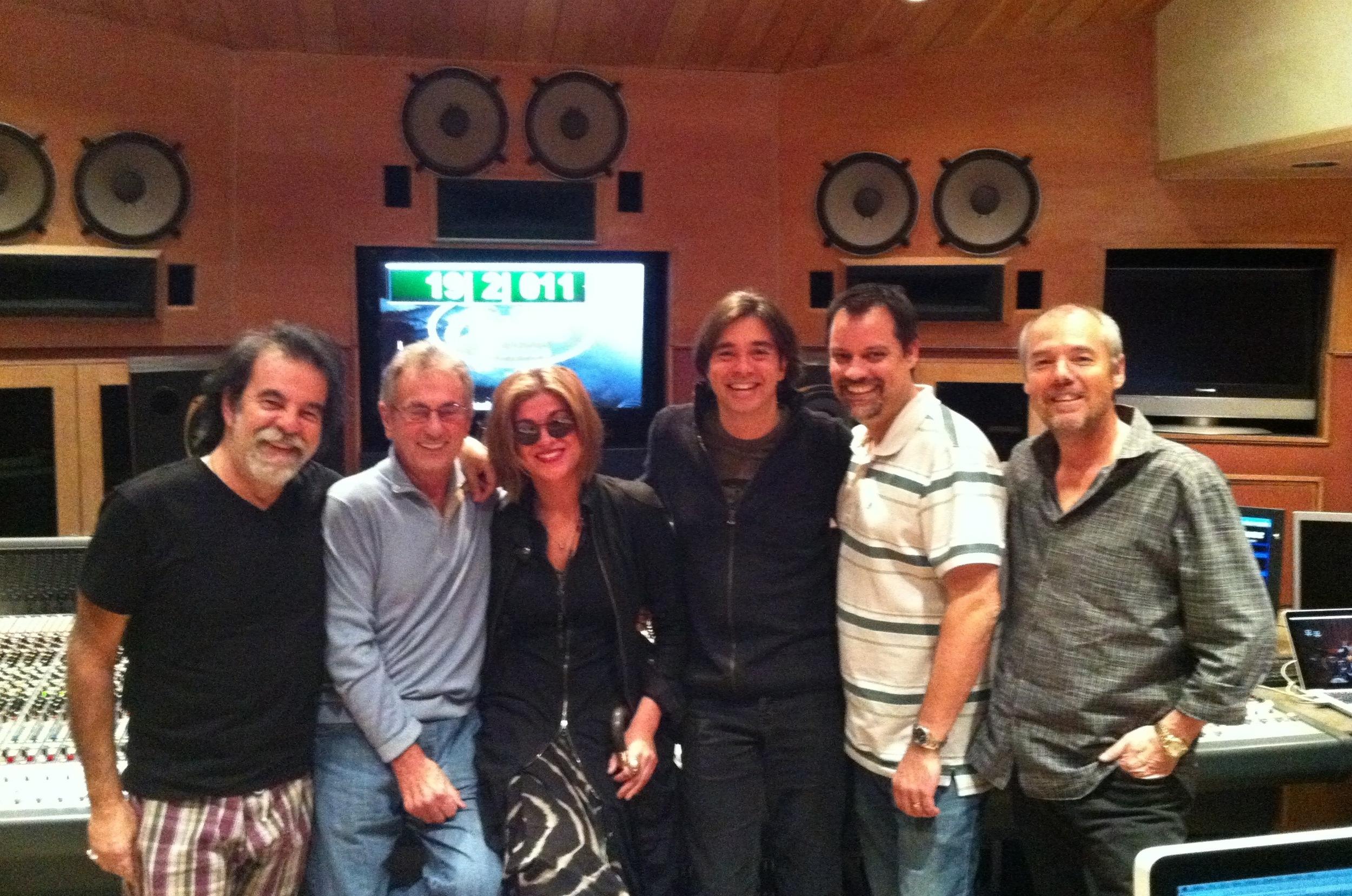 Moogie Canazio, Al Shmitt, Melody Gardot, Heitor Pierera, SG, Steve Maclam 2011