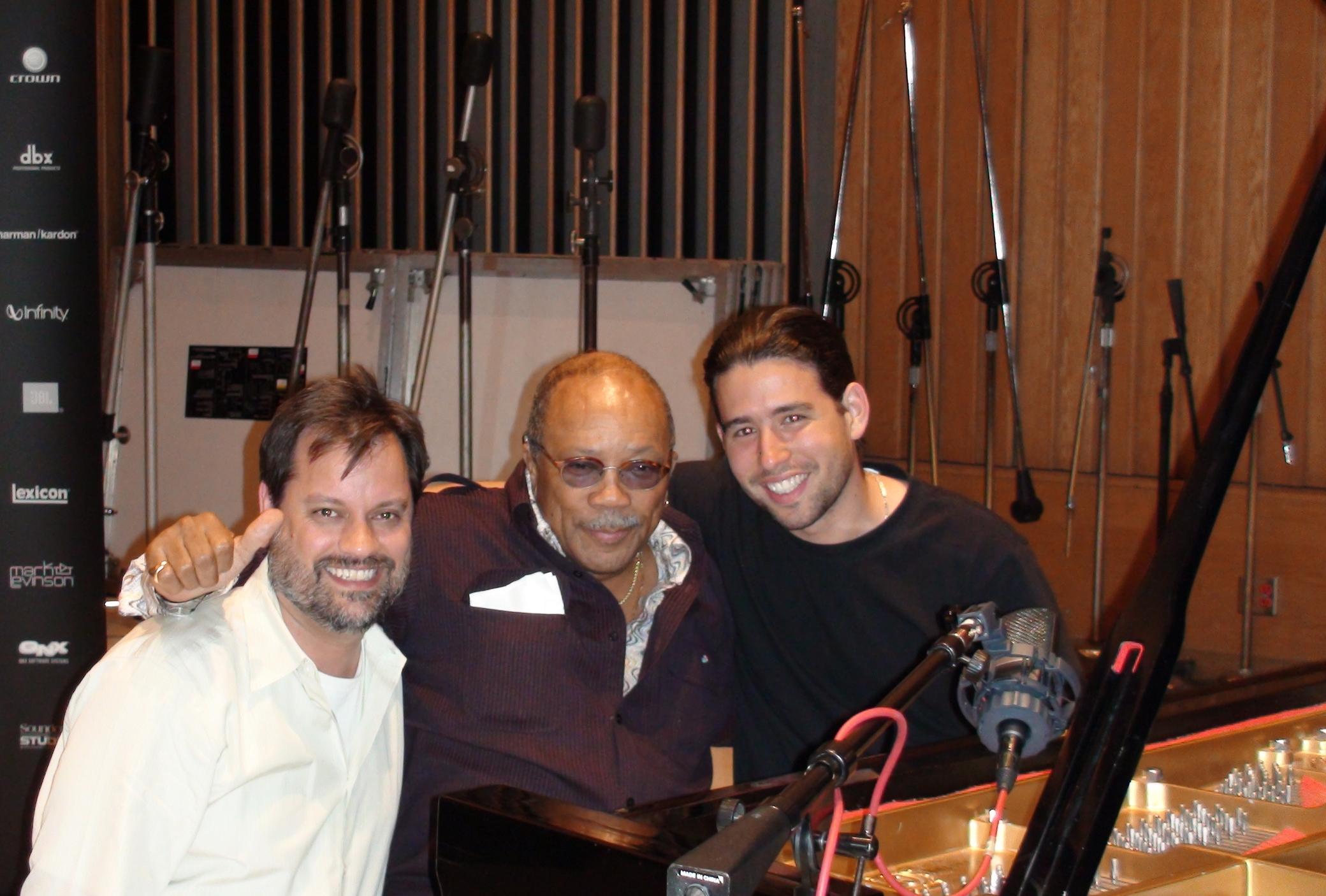 SG, Quincy Jones, Alfredo Rodriguez 2007