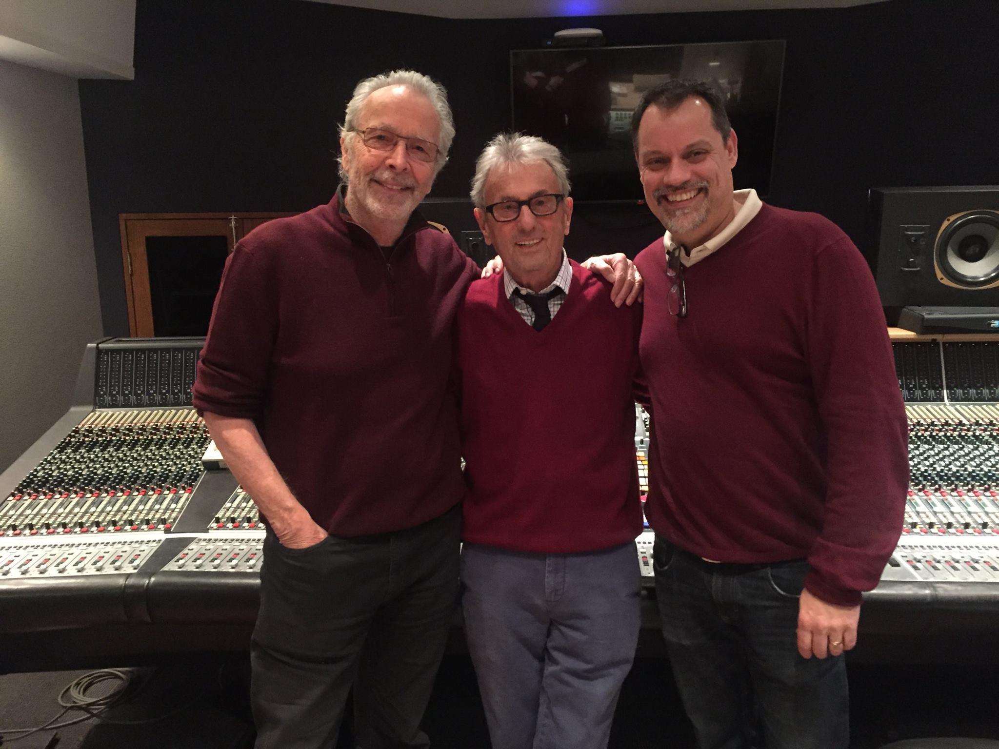 Herb Alpert, Al Schmitt, and Steve 2017