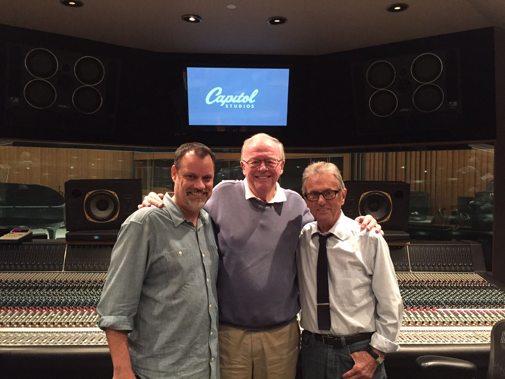 Pat Williams, Al Schmitt, and Steve 2017