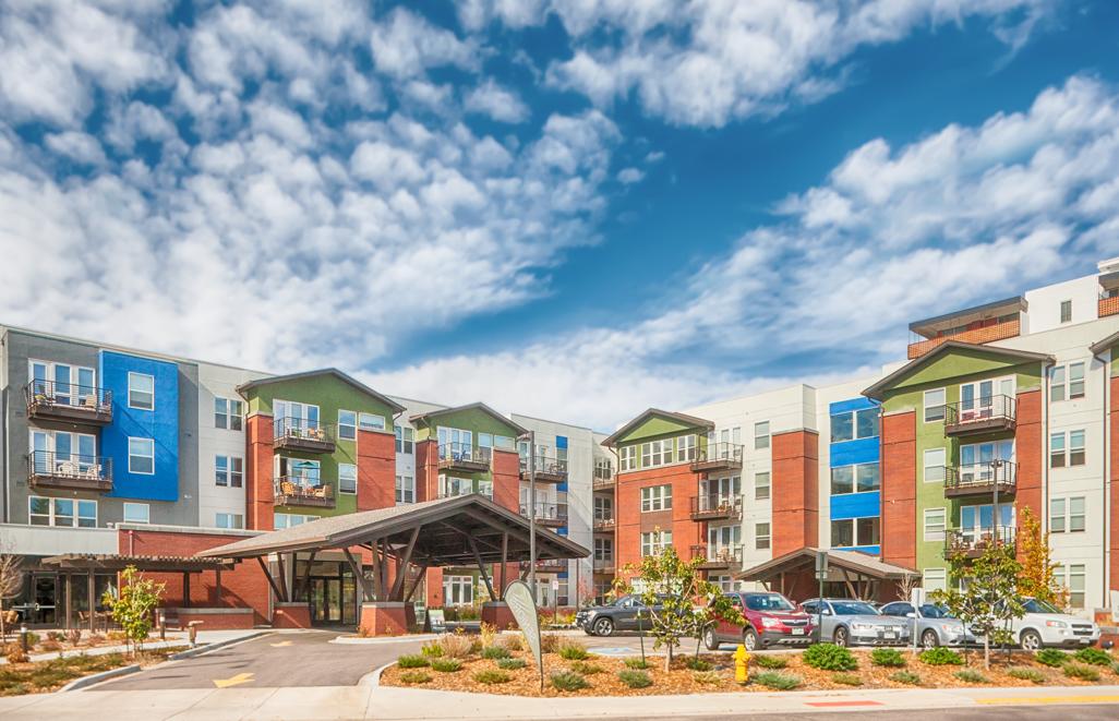 University Hills Senior Residences  Shaw Construction  89 Units