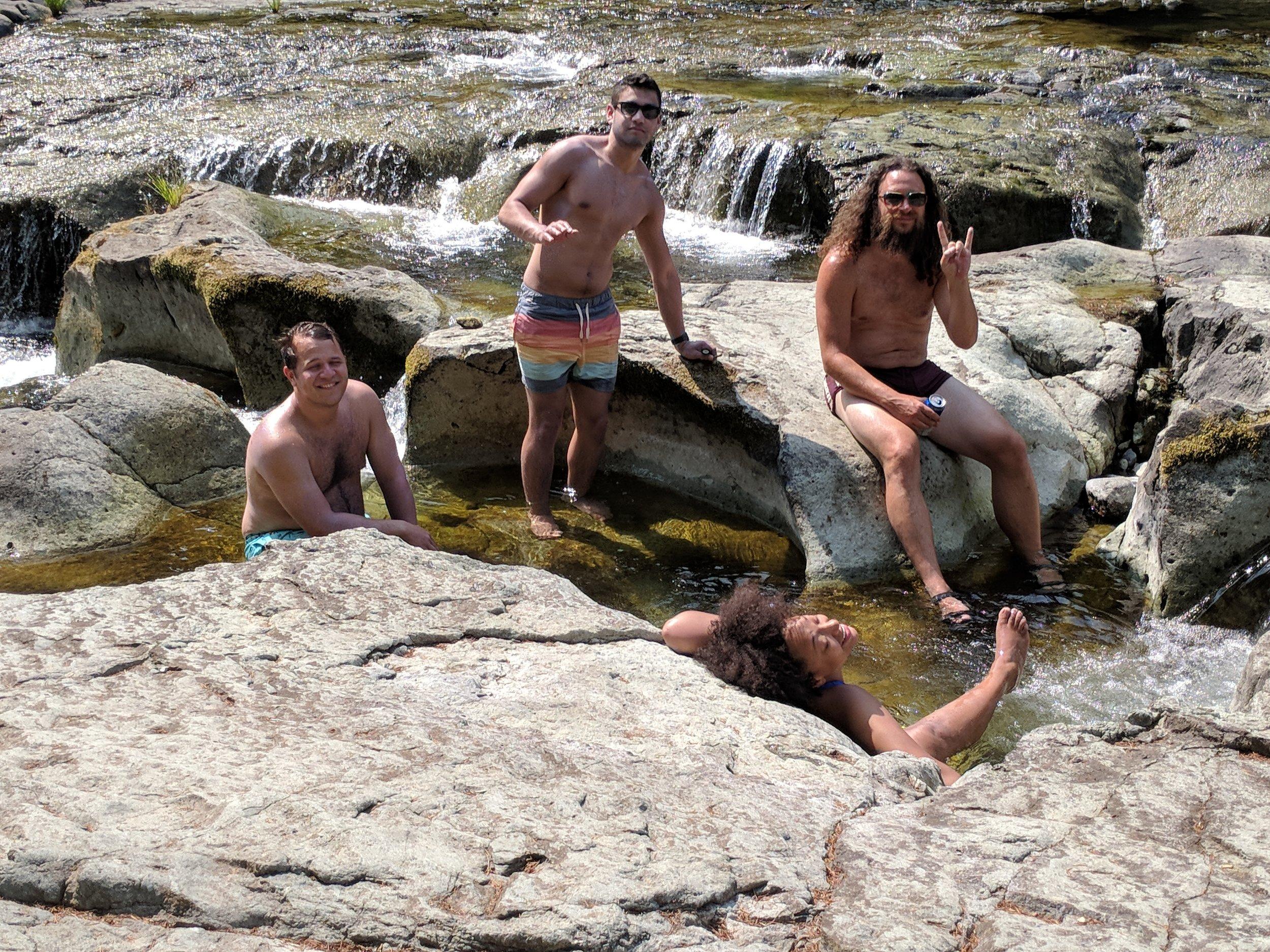 Naked Falls in Washington State