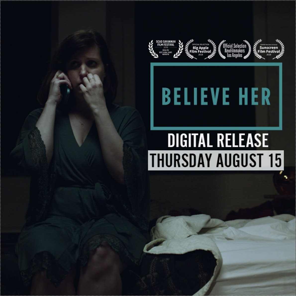 Believe Her stars Allison Tolman.