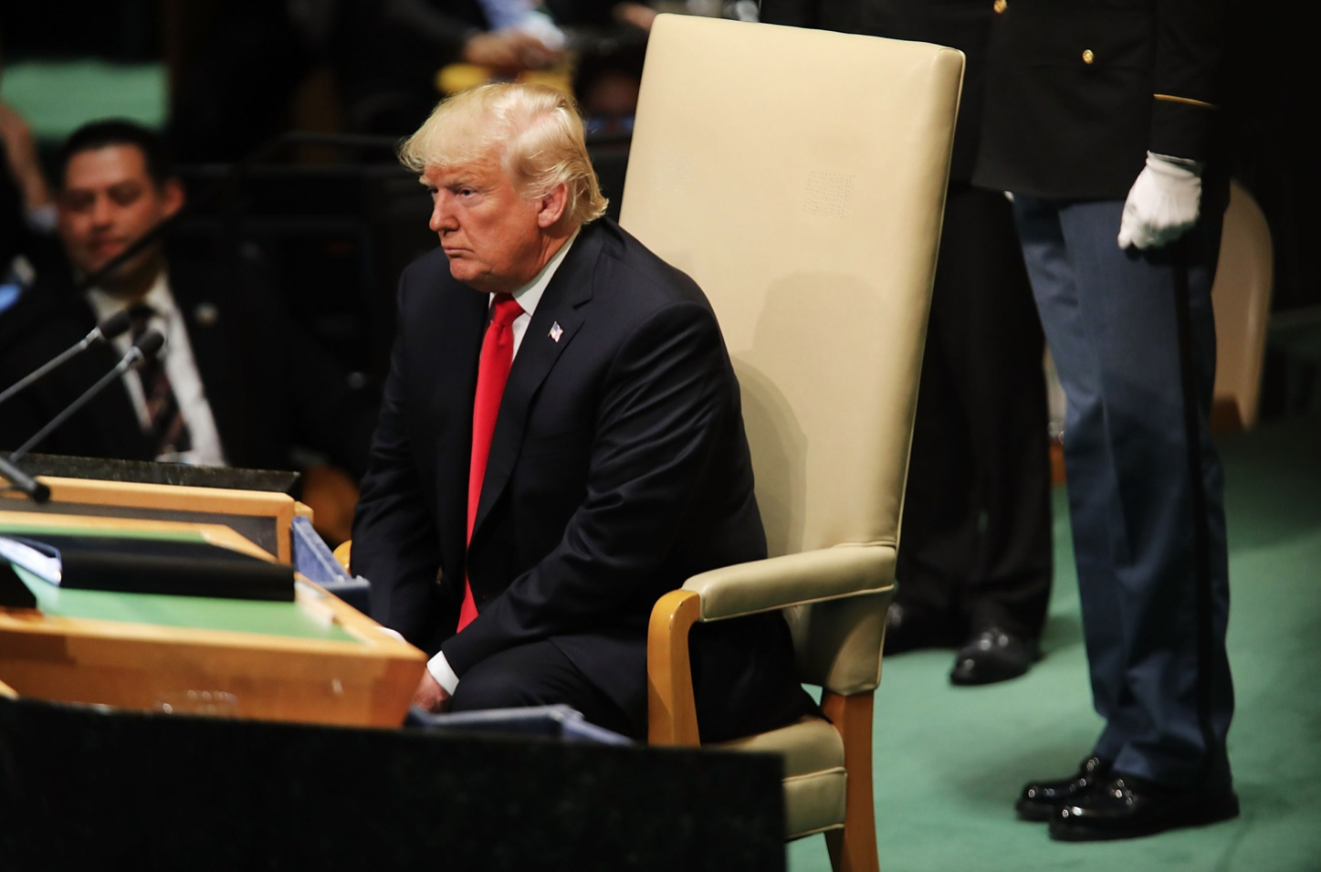 ThinkProgress  September 2018 UNITED NATIONS, NEW YORK — Iran president: Trump's UN speech shows his 'Nazi disposition'  Read more →