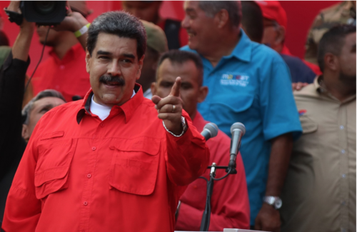 ThinkProgress  May 2019  President Trump considers military options in Venezuela that experts say will 'freak out' the hemisphere    Read more →