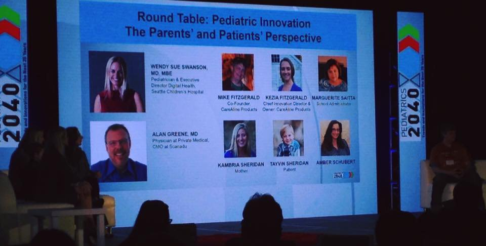 Peds2040 included vital input from the parents' and patients' perspective.