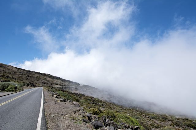The road to clouds...