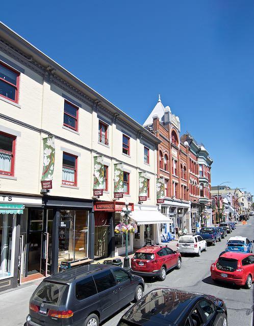 Victoria, BC streets