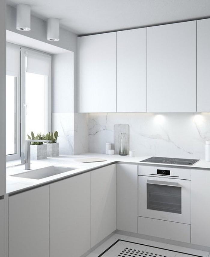 interior inspiration: white kitchen