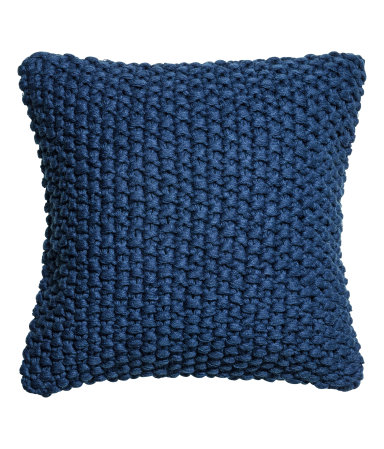 Knit cushion cover $24.99  H&M