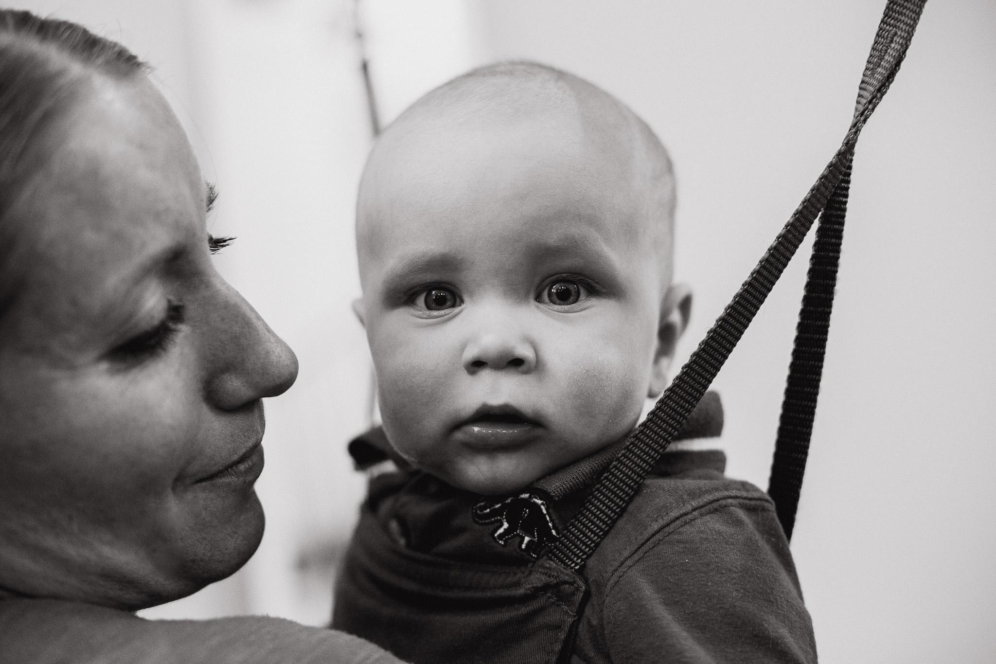 Baby Will + Mama