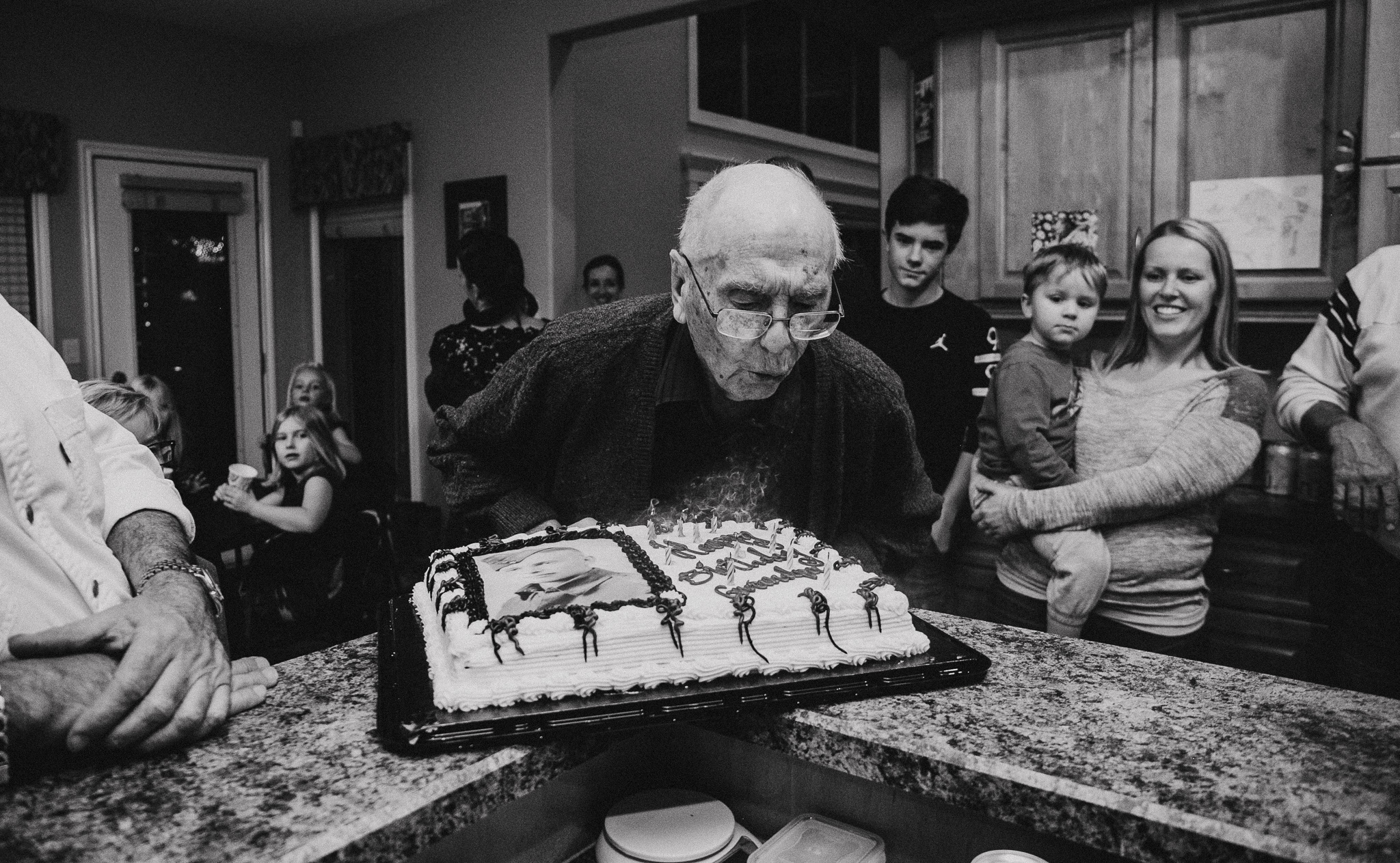 Grandpa Russ - This birthday thing is some serious business
