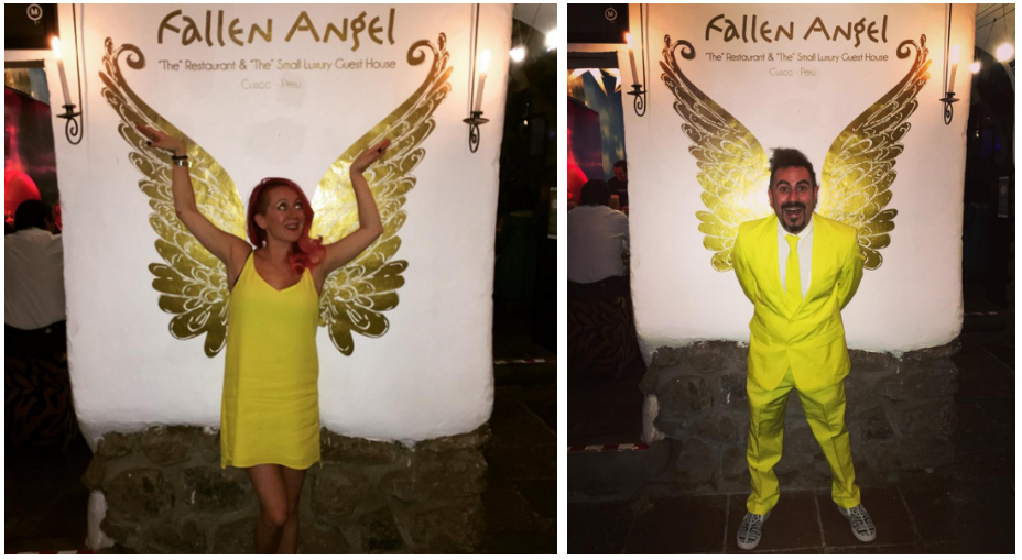 Yellow is supposed to be lucky in Peru, where we rang in 2016. A BELATED HAPPY NEW YEAR TO YOU!