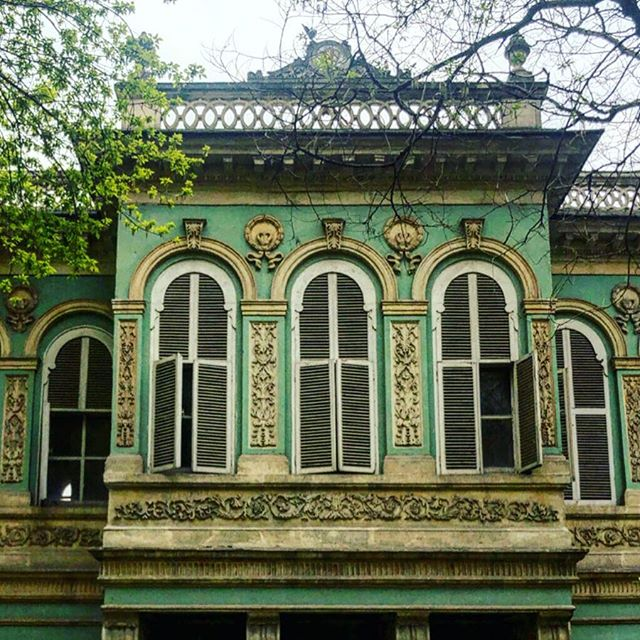 Istanbul, Turkey | April 2019 | Mezze & mosques for days, lots of kitties, and this old green building, which was both beautiful and mysterious.
