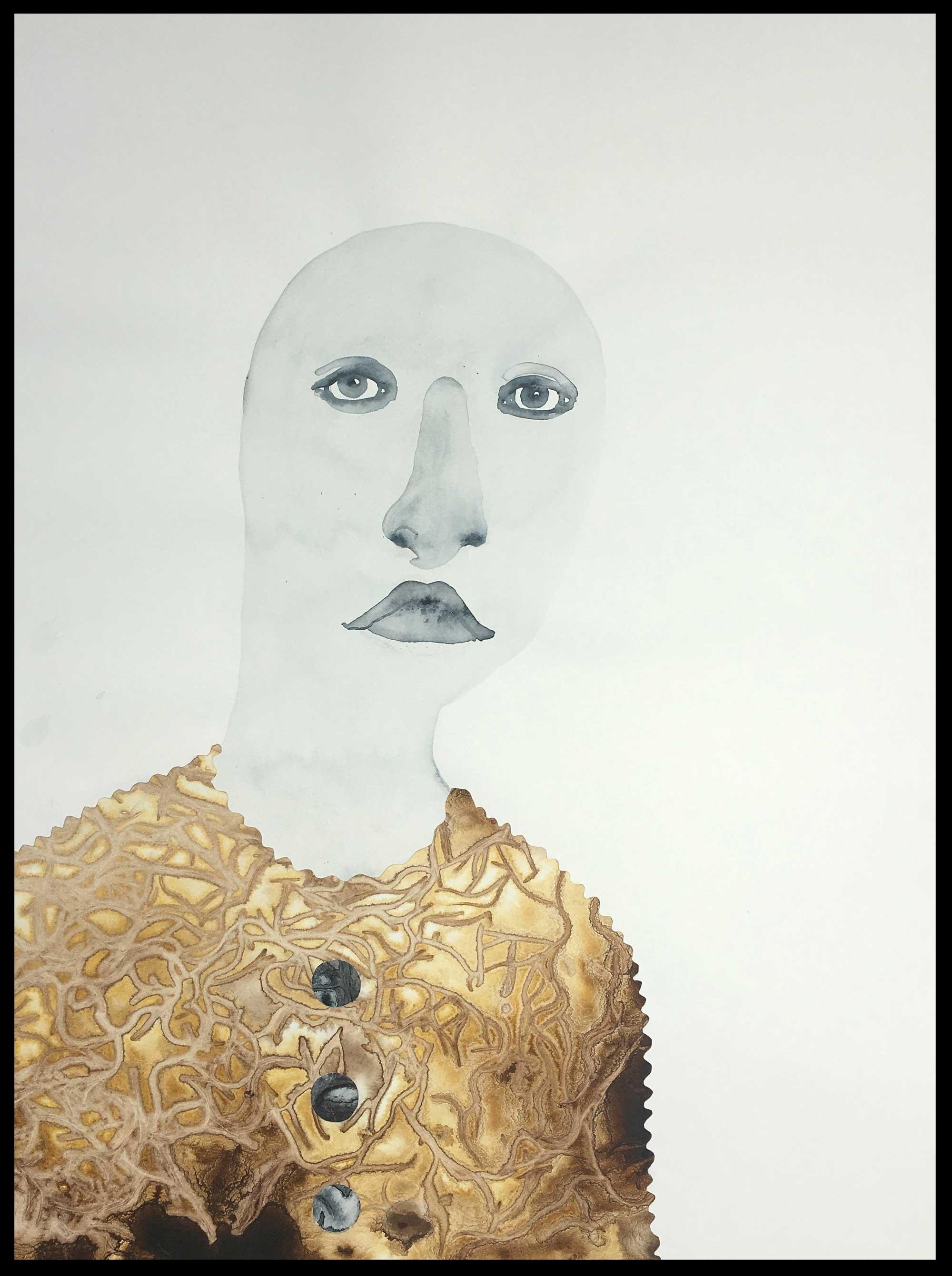 Portrait in Golden Sweater