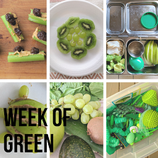 Have fun with you toddler and teach them the color green using recipes, sensory activities, and healthy snacks.