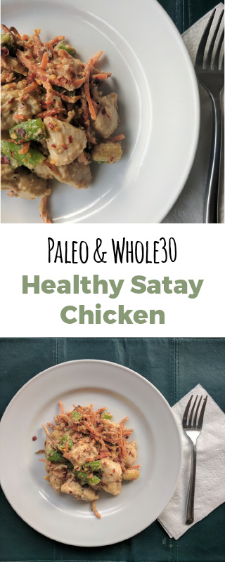 Healthy Satay Chicken