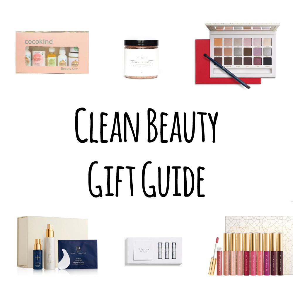 Organic, clean safe beauty care that is good for you skin and good for health too! Check out our go to gift guide for the woman in your life.