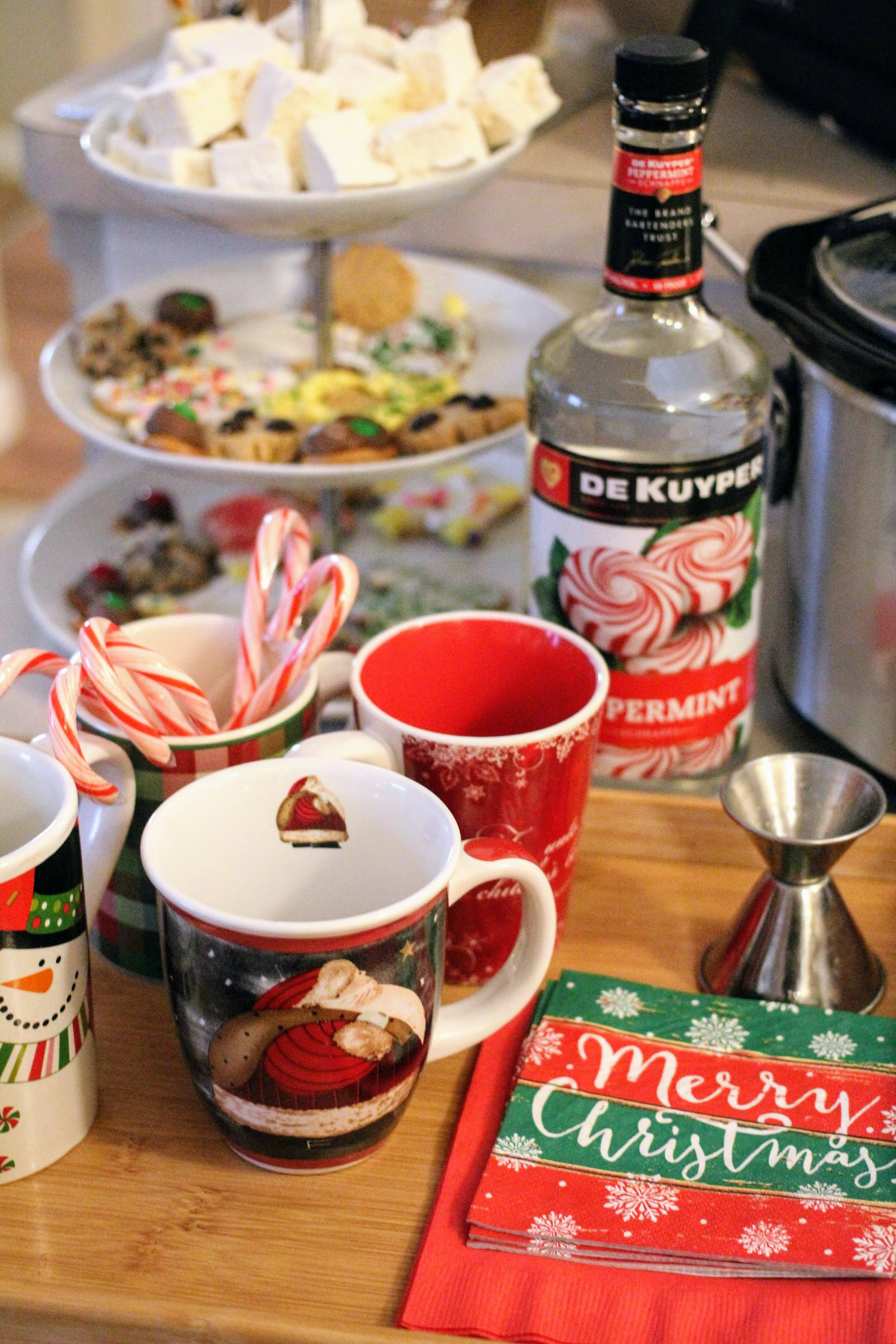 Dairy free hot chocolate bar that make the prefect Christmas Eve tradition.
