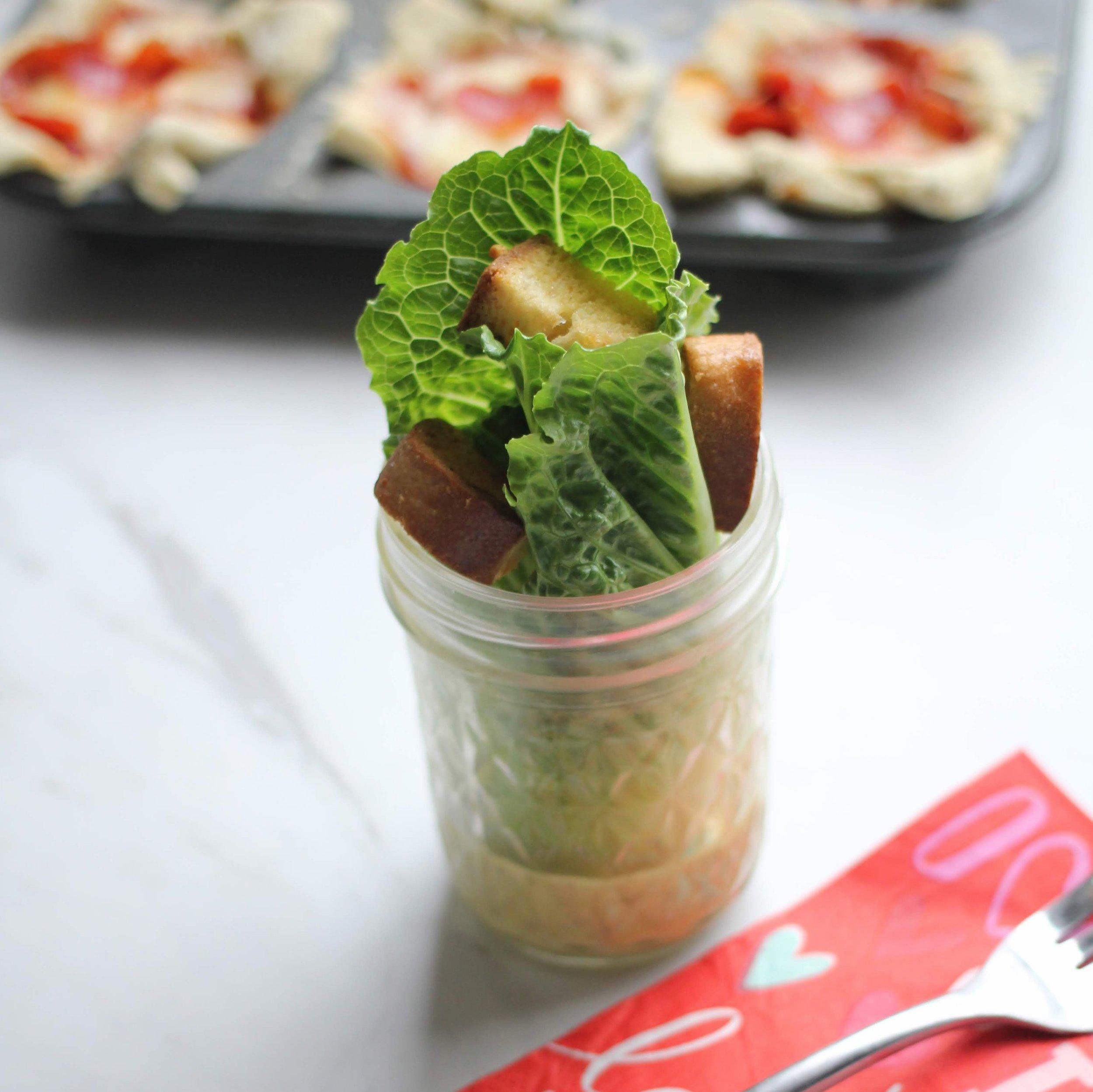 homemade ceasat salad dressing