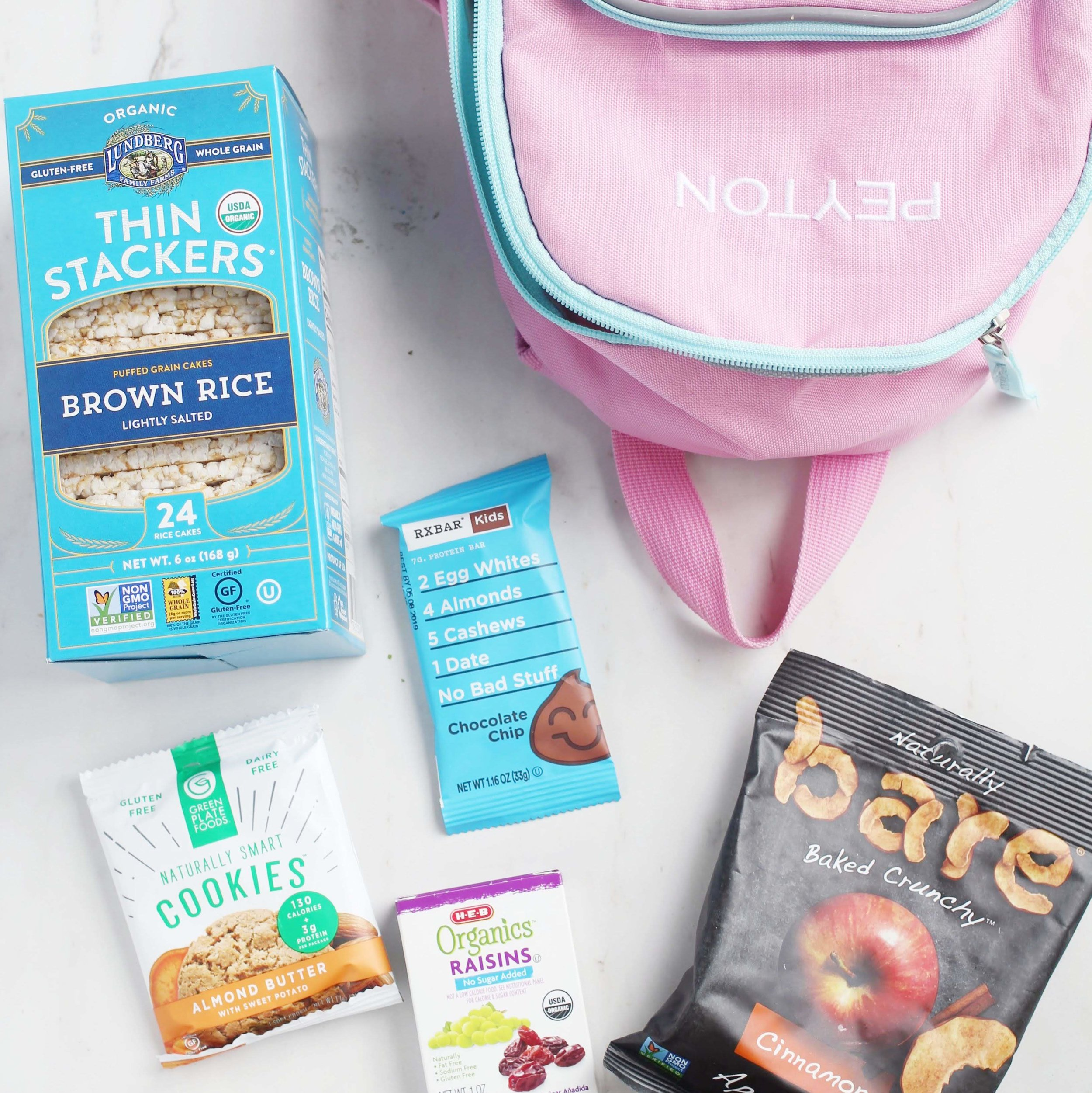 healthy kid snacks for travel