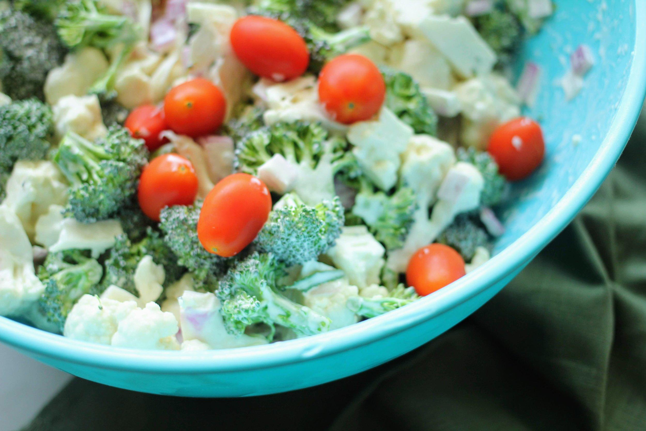 paleo crunchy salad