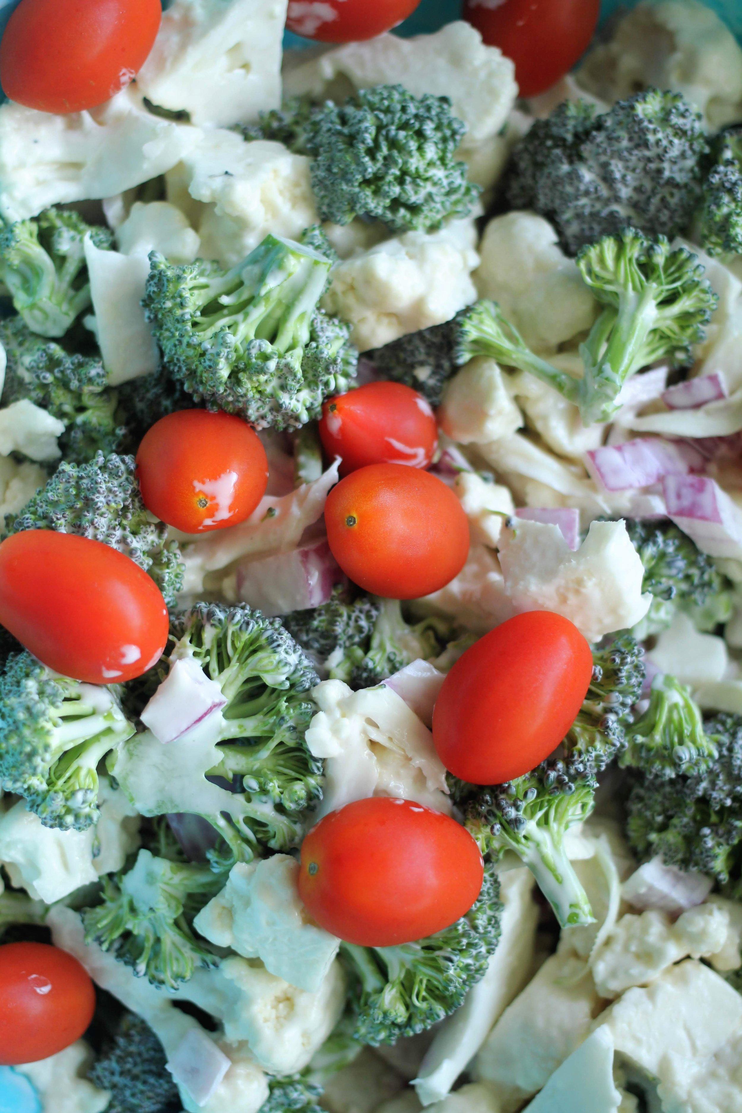 healthy summer salad side